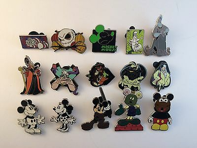 Disney Pin Collection - Pins All In Picture