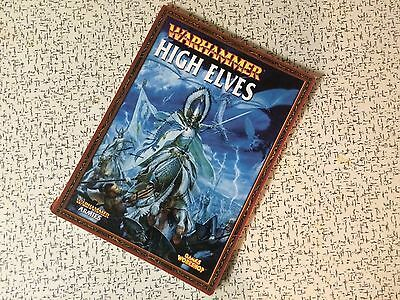 High Elves Army Book - Soft Cover