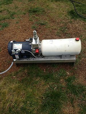 Rexroth Electric Hydraulic Pump Unit 3 Hp 220 Volt