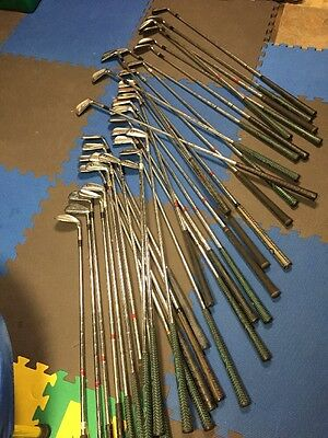 Lot of 35 Ben Hogan Golf Clubs Right Handed WOW!