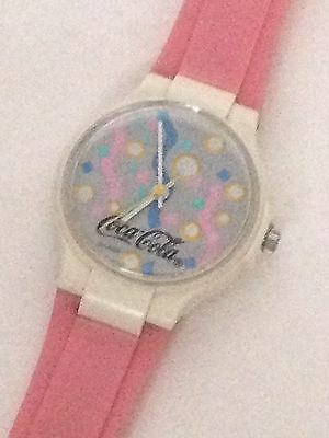 Vintage Swatch Coca Cola Watch Swiss Made Cool