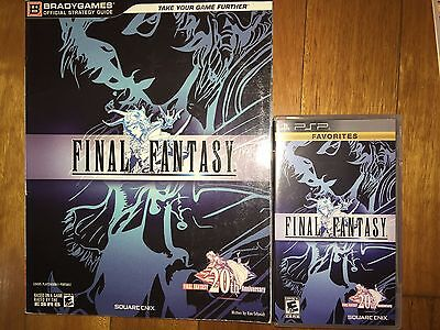 Final Fantasy 1 I PSP *as-new* + Official Strategy Guide