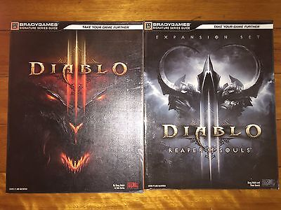 Diablo III 3 + Reaper of Souls Expansion Strategy Guides *As-New*