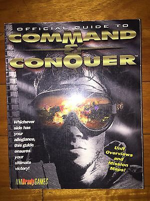 Command & Conquer C&C Official Strategy Guide *Rare*