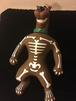 """Very Rare STRETCH Scooby-Doo 11"""" GLOW IN THE DARK Free Ship Still Stretches"""
