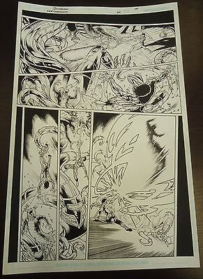 Buchemi GREEN LANTERN NEW GUARDIANS 34 pg 10 AWESOME ALL KYLE ACTION PAGE