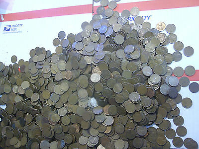 250 WHEAT CENTS lot mixed P D S  lincoln cent pennies copper penny coins
