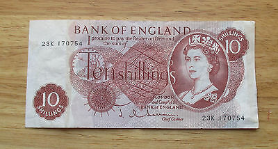 1962 Great Britain Bank of London 10 Shilling World Currency Note