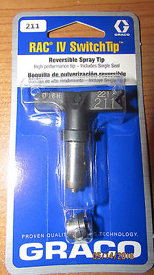 BRAND NEW GRACO RAC  IV Switch Tip 211