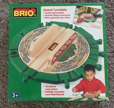 33276 Brio Wooden Train Grand Turntable Thomas! See My Store! Nice!