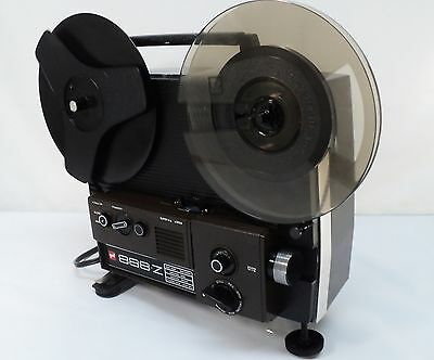 AUTOMATIC DUAL 8  HOME MOVIE PROJECTOR 8MM/SUPER 8 Films RECONDITIONED !