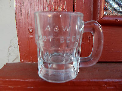 Vintage A&W Rootbeer Mug with Raised Letters