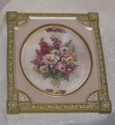 Bradford Exchange Collectable Rose Picture Cameo Of Memories Limited Edition