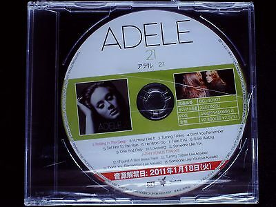 Adele - 21 Japan CD SEALED PROMO