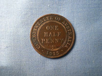 1915h KGV LOW MINT H/PENNY