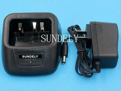 KSC-31 KNB-29N KNB-30A KNB-45L Battery Charger+adaptor for KENWOOD Radio New