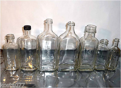 Lot, 7 Vintage Medicine Glass Bottles, JR. WATKINS, DR. PETER FAHRNEY & SONS CO.