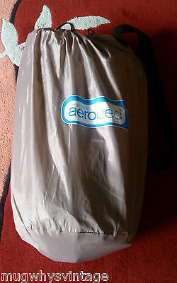 Genuine Aerobed Active Camping Bed Queen Size