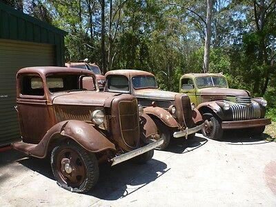 1936 Ford Pickup rare original Patina Ford Suit hotrod ford F1 F100 chevy