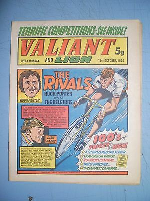 Valiant and Lion issue dated October 12 1974