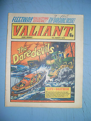 Valiant issue dated August 16 1975
