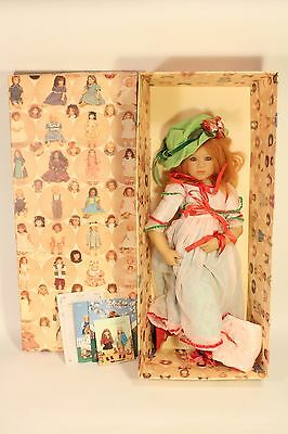 """Mint in Box Annette Himstedt Kinder Puppen 1999 Collectible Toy Mirte 36"""" Doll"""