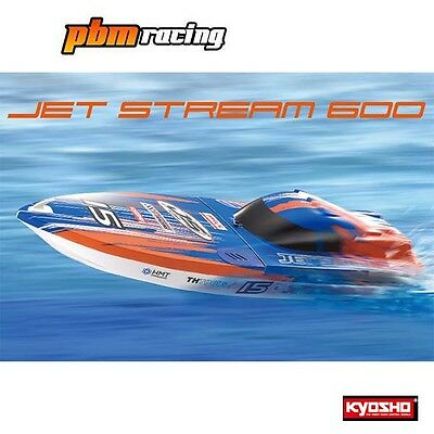 Kyosho Jet Stream 600 RC Electric Deep-V RTR Racing Boat - 40132