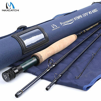 Maxcatch 3WT Nymph Fly Rod 10FT IM10 Carbon Fiber Fast action Fly Fishing Rod