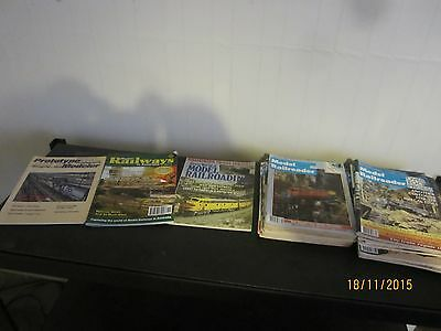 35 x Model Railway Train magazines. Bidding starts at 10 cents each