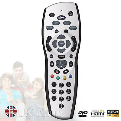 UK Sky + Plus HD Rev 9 Remote Control Replacement TV 1 Year Warranty New HQ