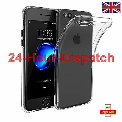 New Ultra Thin Soft Silicone Gel Rubber Case Cover For iPhone 7 Plus {bg4