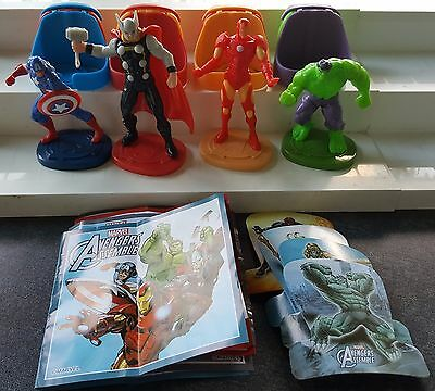 Maxi Marvel Avengers 2016, complete set with all Bpz.