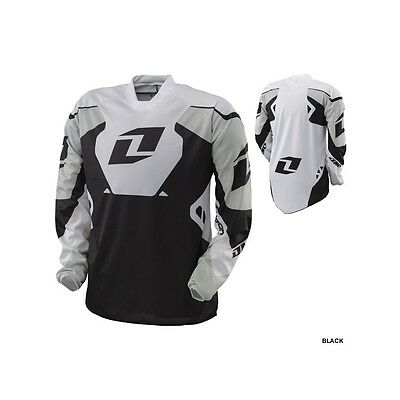 One Ind MX Jersey Carbon Black