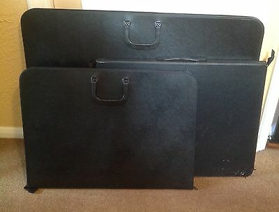 Daler portfolios + extras - collection from Chatham, Kent