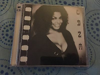 Janet Jackson, Various ‎– Janet - Collector's 2 CD Set CD - RARE INTERVIEW