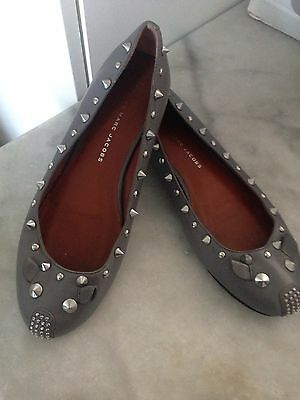 Ballerines Gris Souris Taille 36 Marc By Marc Jacobs