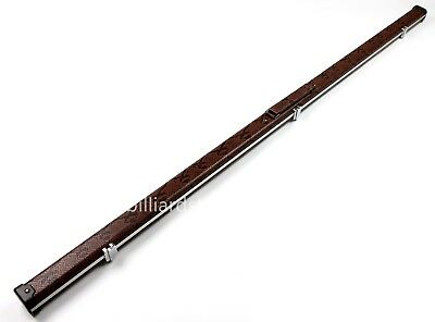 One 1 Piece Halo Snooker Pool Cue Case Slimline Aluminium Cue Cases Holds 1 Cue