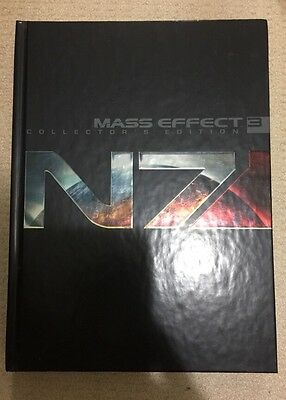 Mass Effect 3 Prima Strategy Guide Collector's Edition - New