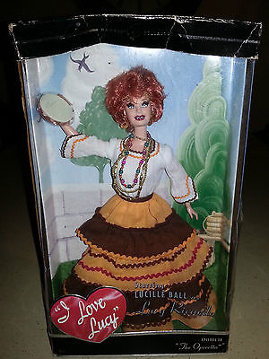 I Love Lucy Episode 38 The Operetta Barbie Collector 2005 New Doll Mattel