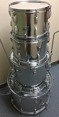 Ludwig Vintage 1970's Stainless Steel 4 Piece