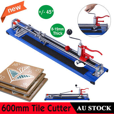 600mm Industrial Manual Tile Cutter Ceramic Cutting Machine For Large Tiles AU