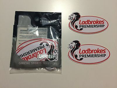 Ladbrokes Scottish Premier SPL Premier Shirt Sleeve Patches Sporting iD RANGERS