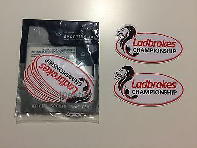 Ladbrokes Scottish Championship Shirt Sleeve Patches - Sporting iD