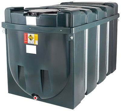 2500 Litre Bunded Plastic Heating Oil Storage Tank - 550 Gallons