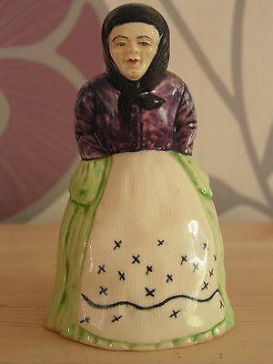 Rare Vintage Old Lady Pottery Figure Good Condition