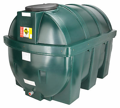 1800 Litre Bunded Plastic Heating Oil Storage Tank - 400 Gallons