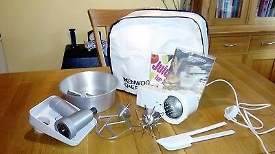 kenwood chef A901 with attachments.  Including mincer,  grater.