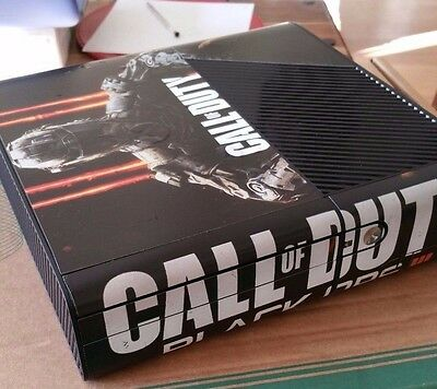xbox 360 e 250gb  with black ops 3  skin and game bungle