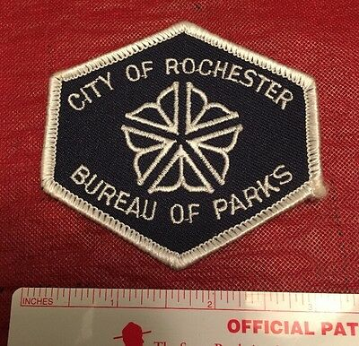 Rare City Of Rochester New York NY Bureau Of Parks Patch