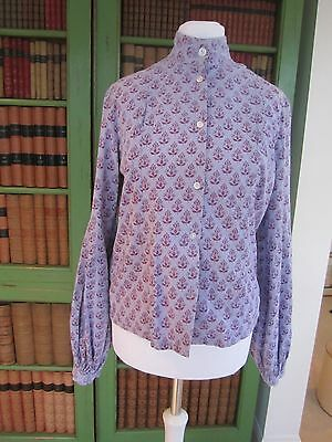 Vintage Laura Ashley blouse with Balloon Sleeves. Wales